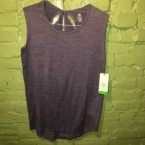 Gaiam yoga work out yoga tank top NWT S